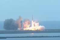 Orion successfully launches on first test flight