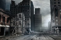 Post-apocalyptic city