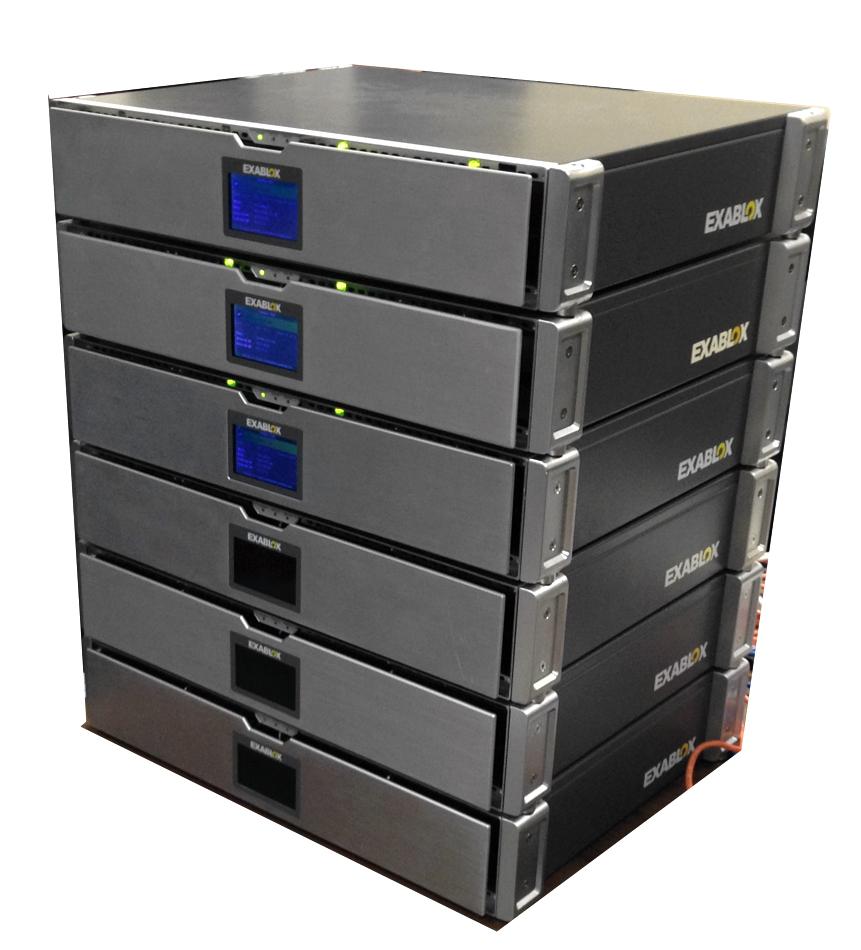 Exablox node stack