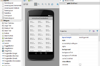 Visual Designer in Android Studio