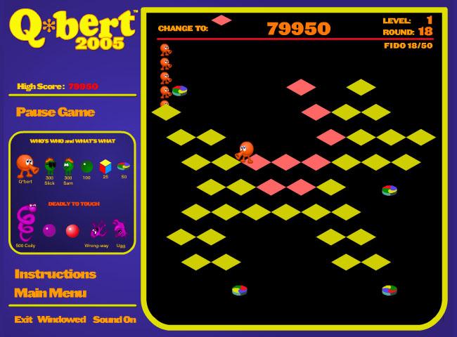 Q*bert: The Escher-inspired platform puzzler from 1982 • The