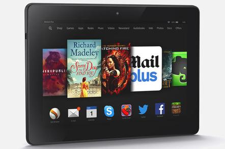 Amazon Fire HDX 8.9 tablet