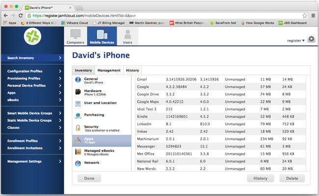 Get comfortable with mobile device management