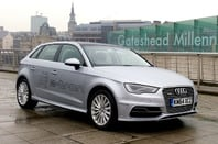 Audi A3 e-tron plug-in hybrid car