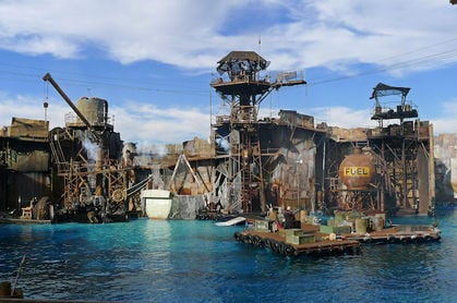 Water World at Universal Studios Los Angeles