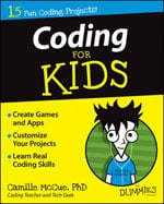 Coding for Kids for Dummies book cover