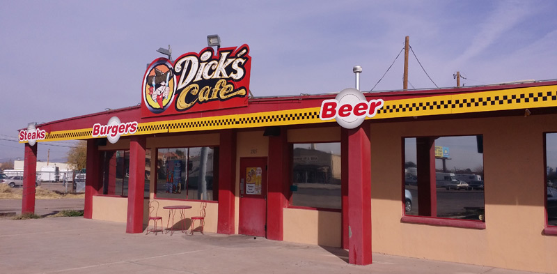 Dick's Cafe in Las Cruces