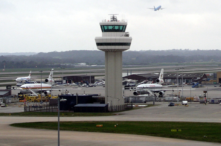 Gatwick Air Traffic Control