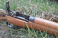 Lee Enfield No.4 rifle. Pic: Gareth Corfield