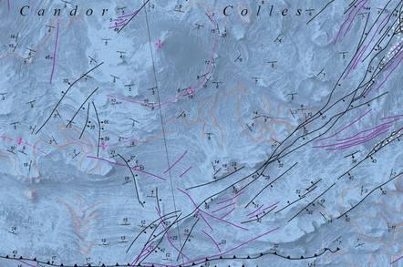 Candor Colles map