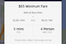 Uber surge pricing during Sydney seige