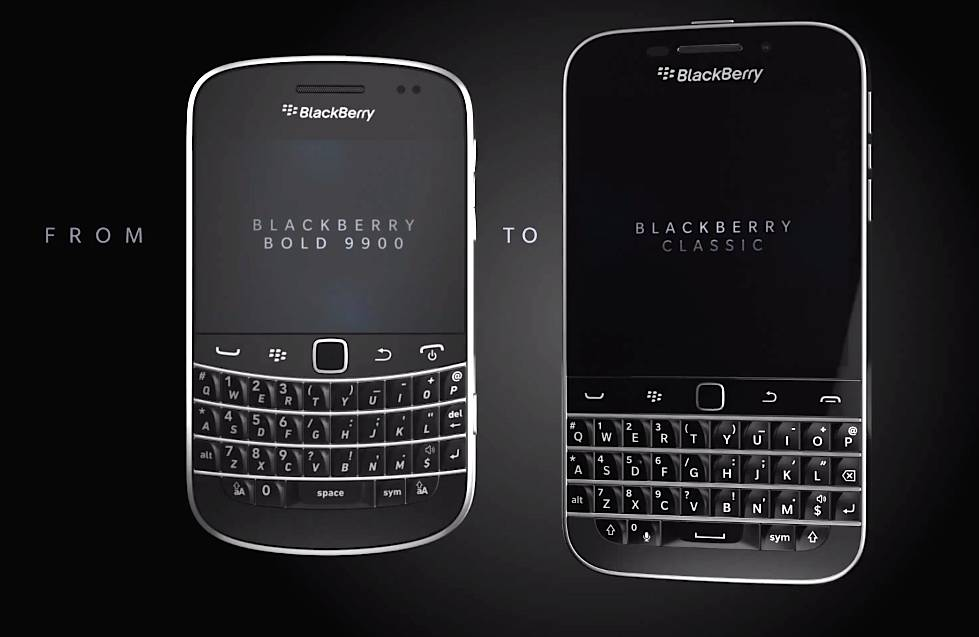 Pitch Black New Blackberry Classic Is Aimed At The Old