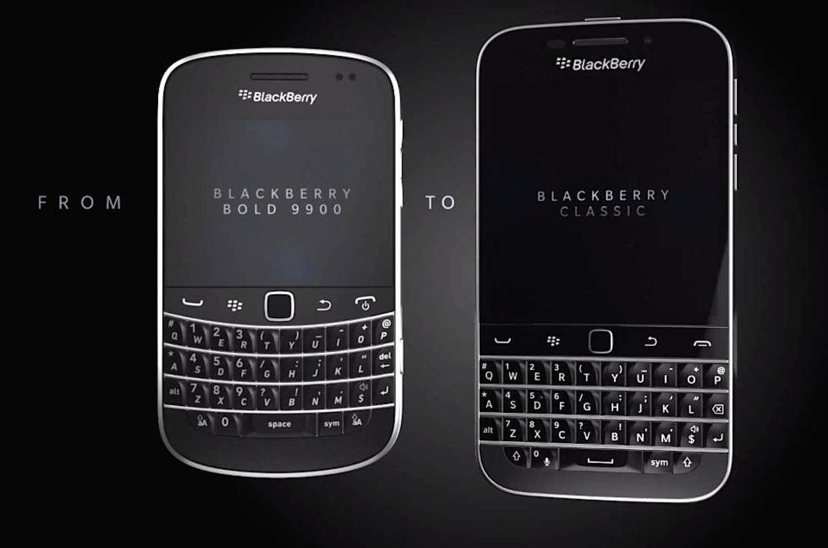 So. Farewell then, BlackBerry Classic. You were a classic ...