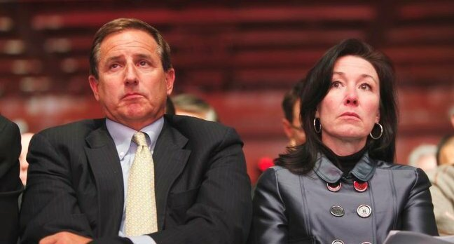 Mark Hurd and Safra Catz