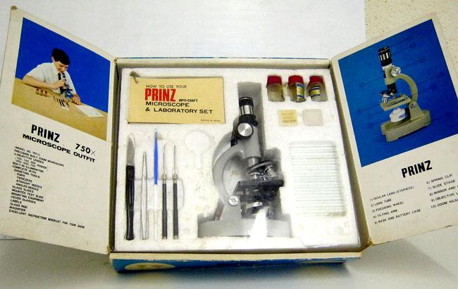 Prinz microscope set