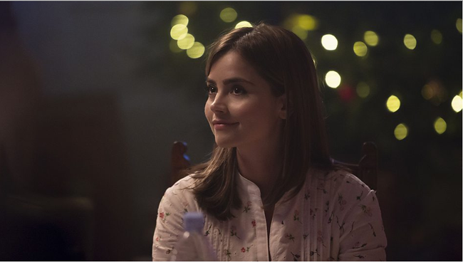 Clara at Christmas, photo: BBC