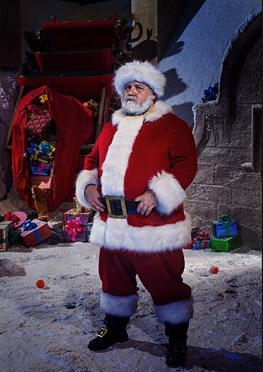 Frost Santa, photo: BBC