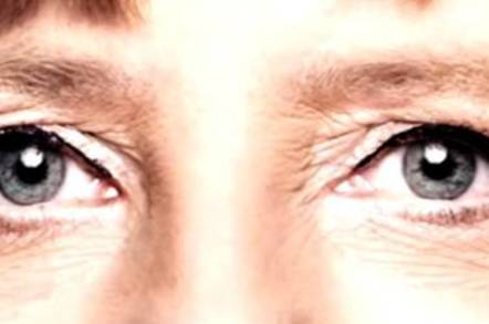 Angela Merkel's eyes
