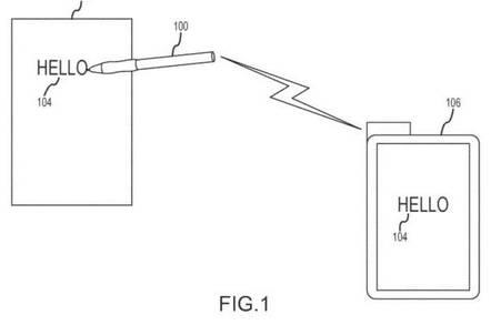Apple Stylus patent filiing