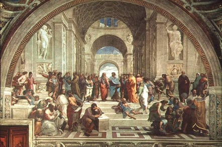 Raphael's School of Athens