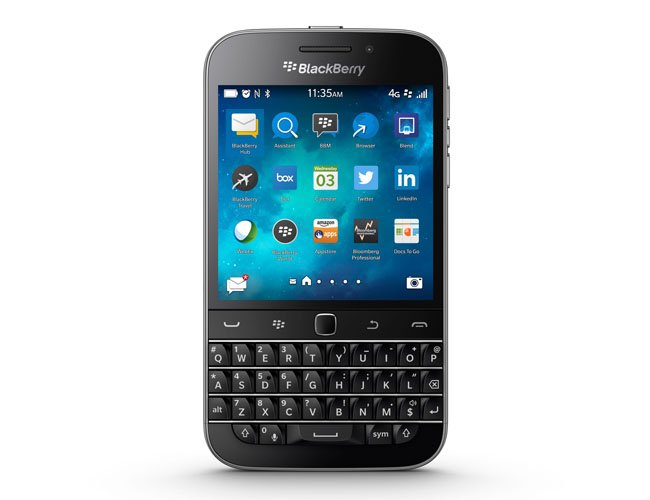 BlackBerry Classic QWERTY key smartphone