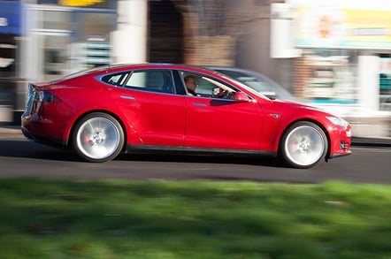 Tesla's big saloon out-performs sports cars