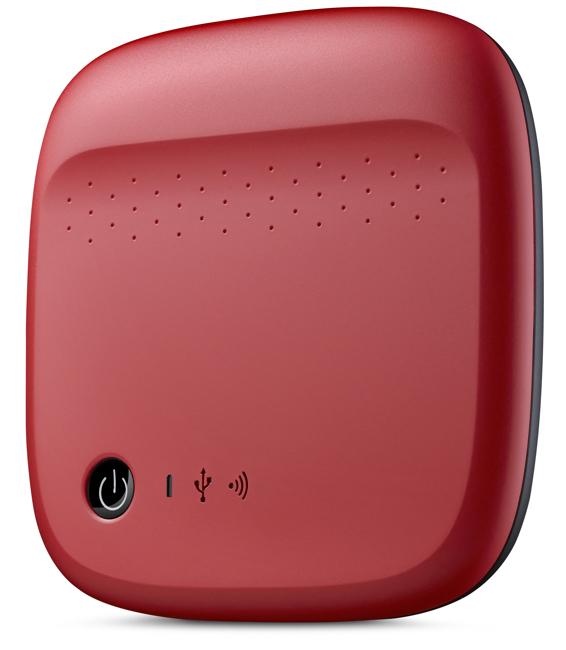 Seagate Wireless Red