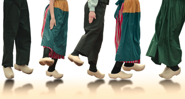 Clog dancers. image via shutterstock http://www.shutterstock.com/pic-138156878/