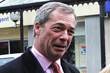 Nigel Farage, leader of UKIP. Pic: Jennifer Jane Mills
