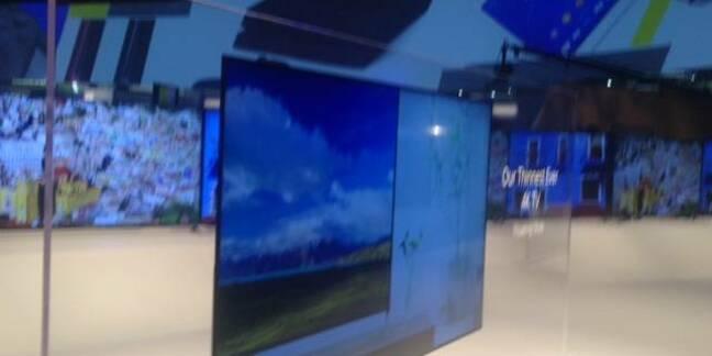 Sony's 4.6mm TV