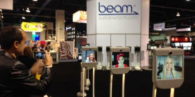Beam booth at CES
