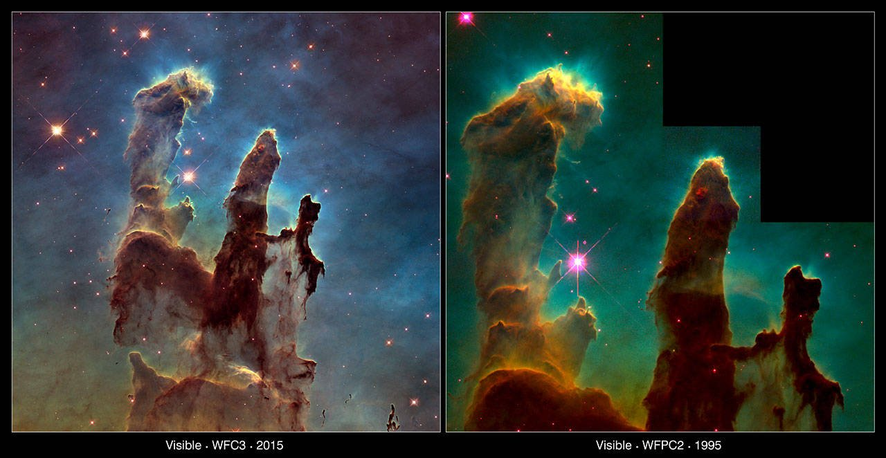 Eagle Nebula comparison