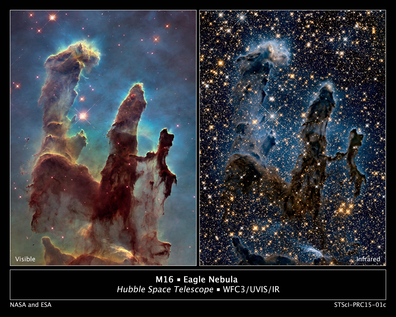 Eagle Nebula infrared