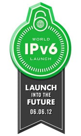 The new normal? IPv6 was launched in 2012