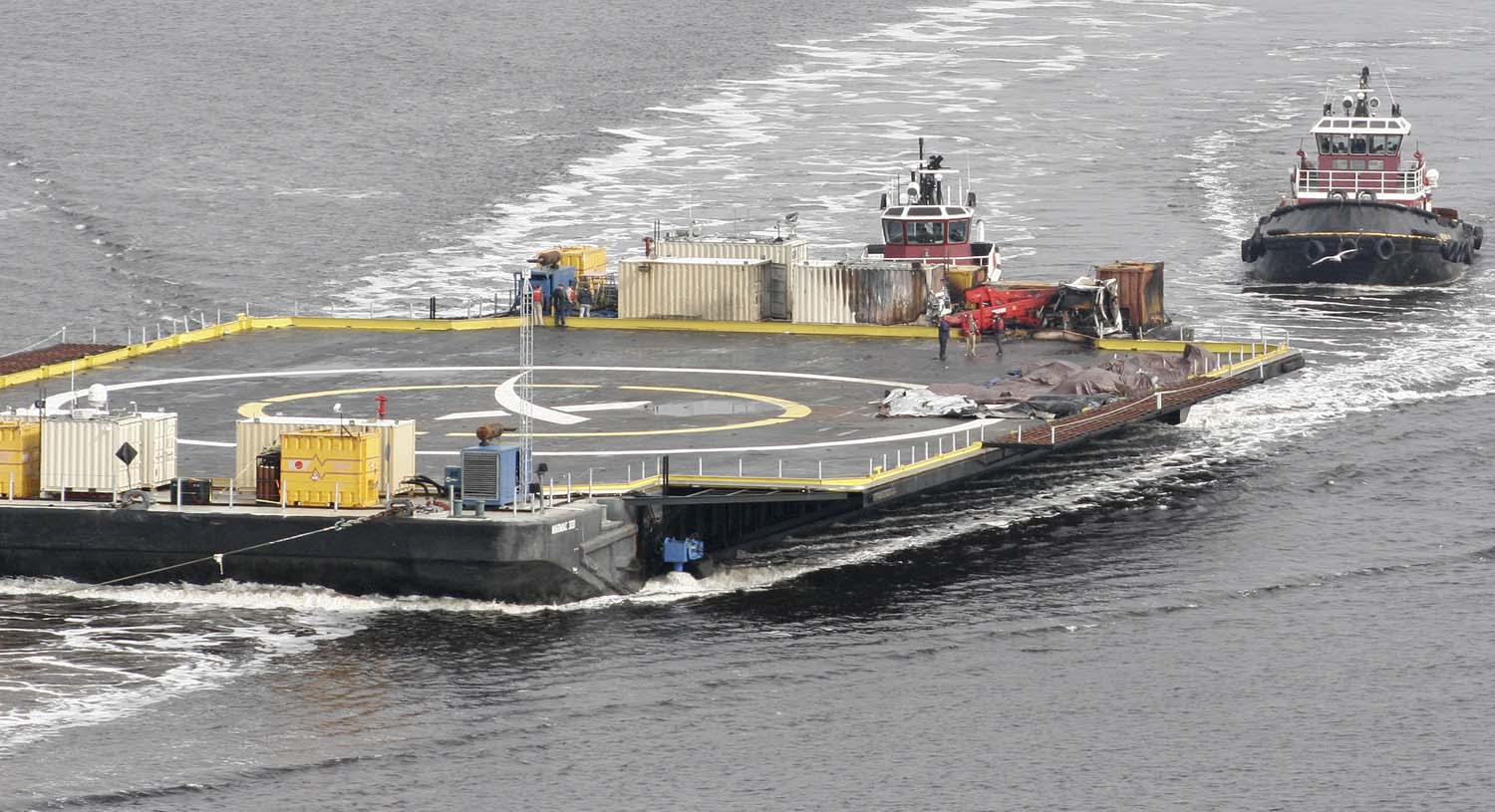 SpaceX Barge coming back to Florida
