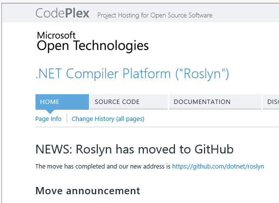 Microsoft snubs Codeplex, moves big projects to GitHub • The