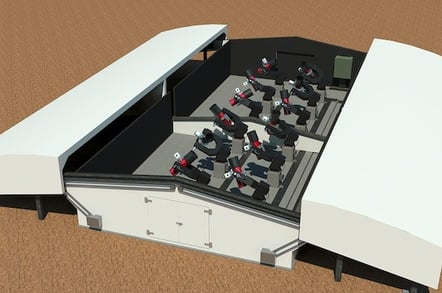 The NGTS telescope array