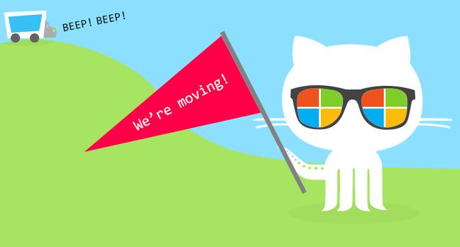 Microsoft moving to GitHub