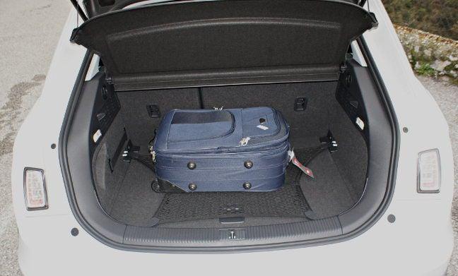 Audi A1 boot. Pic: Simon Rockman