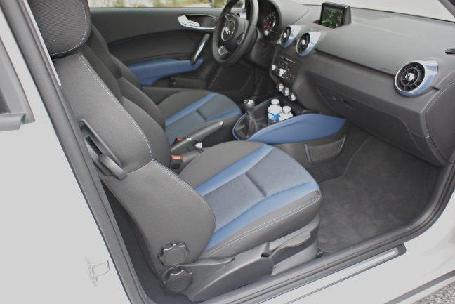 Audi A1 cabin. Pic: Simon Rockman