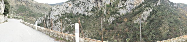 Col de Turini wide view. Pic: Simon Rockman