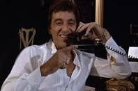 Tony Montana on the phone in Scarface