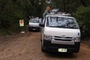 Three Telstra vans restore one line