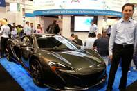 SimpliVity VMworld 2014 McLaren car giveaway