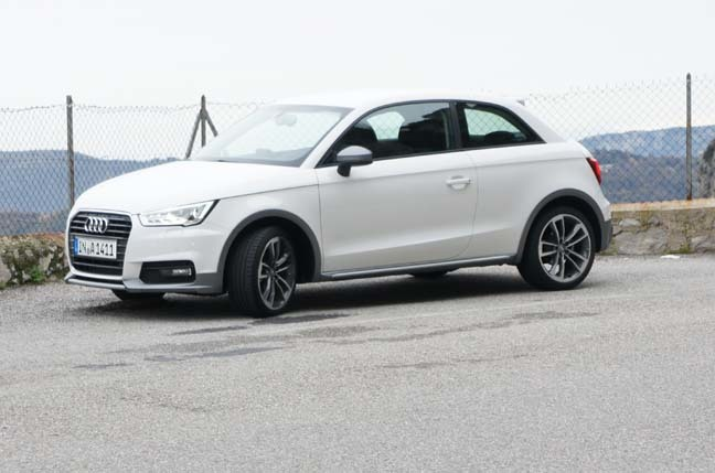 Luxury German Iron Meets Monaco39s Highlands Audi A1 Review  The