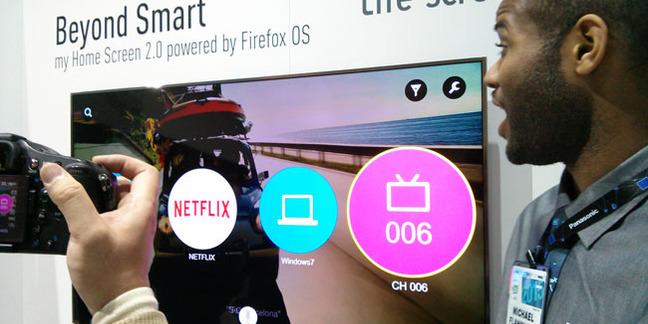 Panasonic Firefox TV UI