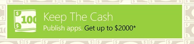 The Keep the Cash app campaign
