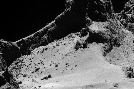 Comet 67P closeup