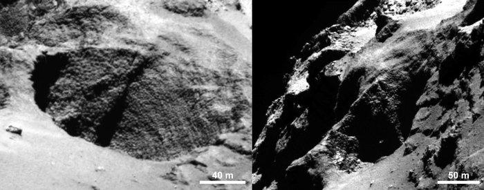'Goosebumps' on Comet 67p