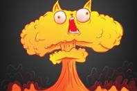 Exploding Kitten Cartoon